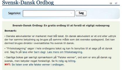 Svensk Dansk Ordbog Translatorforeningen